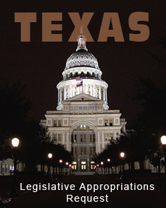 Texas Legislative Appropriations Request